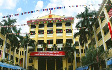 Công trình: Đại học Văn hóa Nghệ thuật Quân Đội