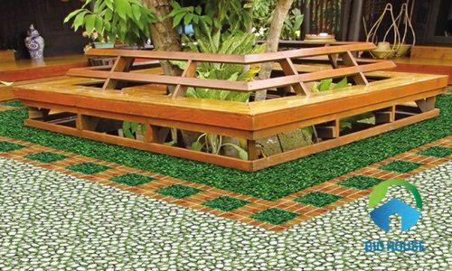 BST các mẫu gạch sân vườn Tasa ĐẸP – ĂN KHÁCH nhất 2020
