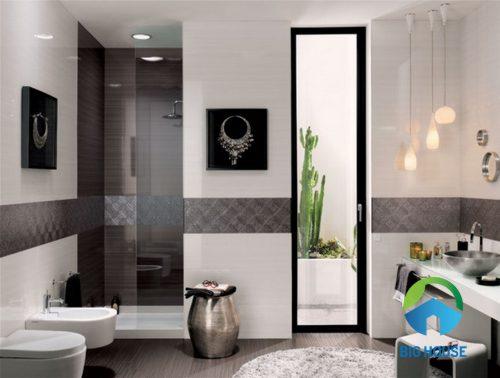 Gạch ốp tường nhà vệ sinh Tasa