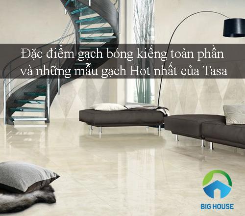 Đặc điểm gạch bóng kiếng toàn phần và những mẫu gạch Hot nhất của Tasa