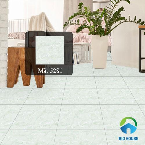 gạch lát nền màu xanh ngọc Tasa mã 5280