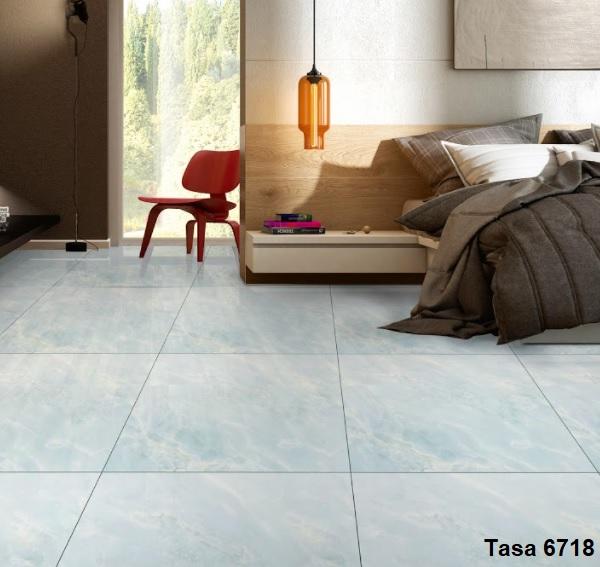 gạch lát nền màu xanh ngọc bích Tasa 6718