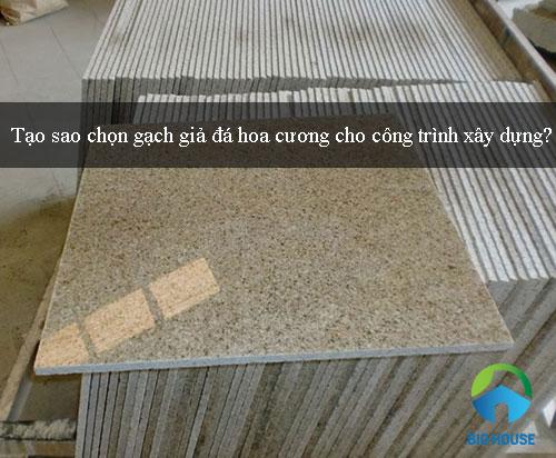 TOP mẫu gạch giả đá hoa cương 50×50, 80×80,… đẹp kèm báo giá chi tiết