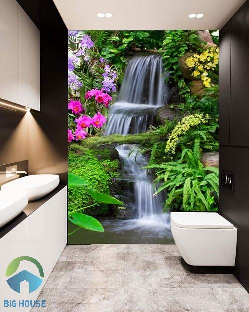 gạch tranh trang trí cho phòng tắm 1
