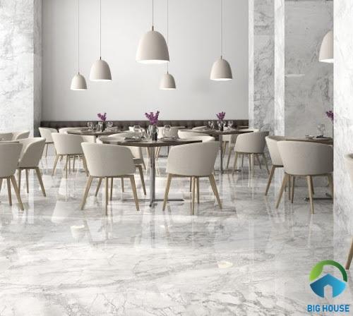 Gạch giả đá marble là gì? TOP mẫu gạch đẹp siêu sang, siêu ấn tượng