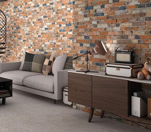 gạch ốp tường trang trí phòng khách 13