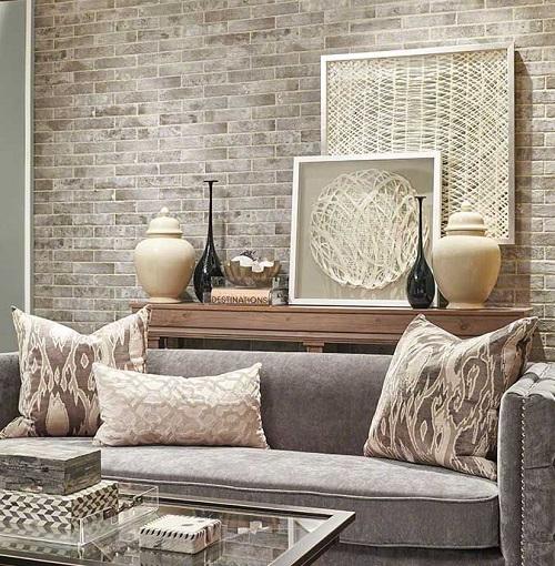 gạch ốp tường trang trí phòng khách 15