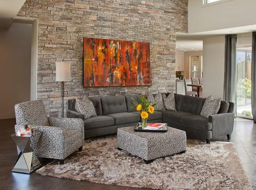 gạch ốp tường trang trí phòng khách 17