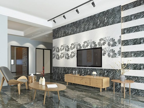 gạch ốp tường trang trí phòng khách 2