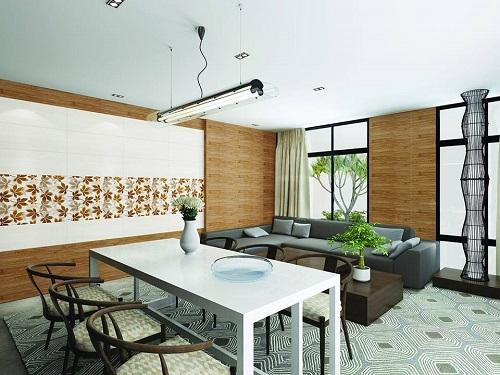 gạch ốp tường trang trí phòng khách 4