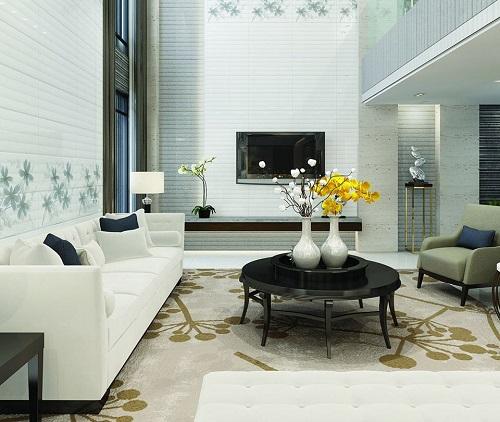 gạch ốp tường trang trí phòng khách 5