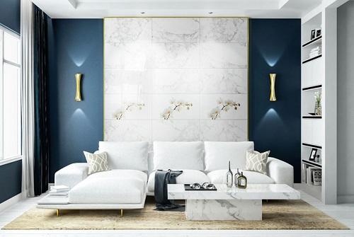 gạch ốp tường trang trí phòng khách 6