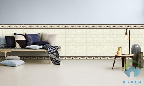 mẫu gạch ốp chân tường phòng khách đẹp 2