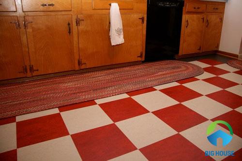 gạch lát nền màu đỏ 2