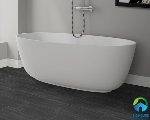 Mẫu gạch lát nền vân gỗ màu xám đậm vừa, bề mặt men matt giúp chống trơn cực tốt