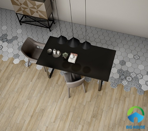 chọn gạch lát nền phòng bếp 10