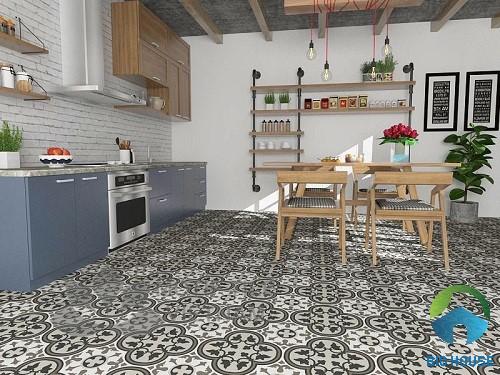 gạch lát nền nhà bếp 4