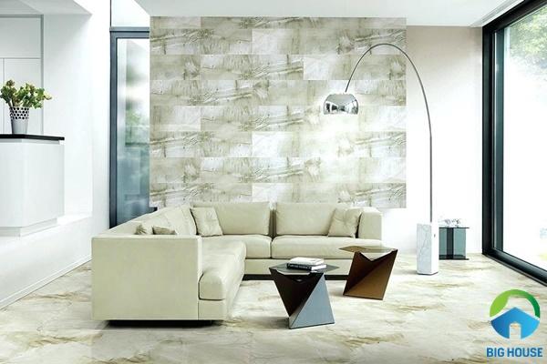gạch ốp tường phòng khách 30x60 14