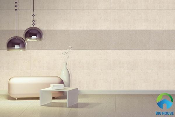 gạch ốp tường phòng khách 30x60 9