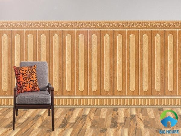 gạch ốp tường phòng khách nhà ống 17