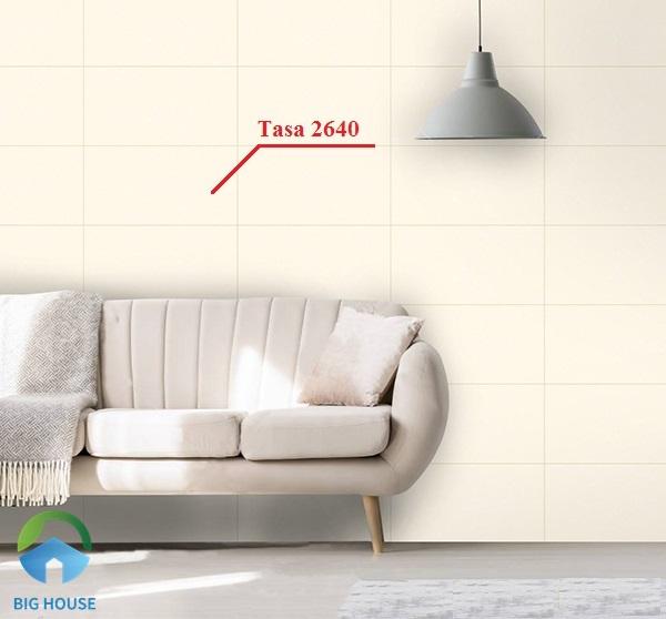 gạch ốp tường phòng khách tasa 2604