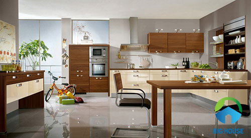 nhà bếp nên lát gạch màu gì 2