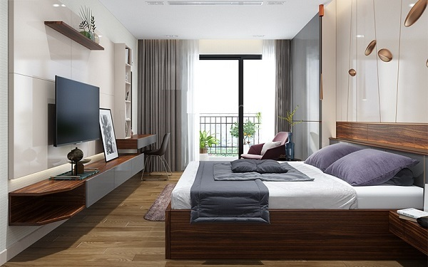 Không nên đặt quá nhiều thiết bị điện tử ở trong phòng ngủ