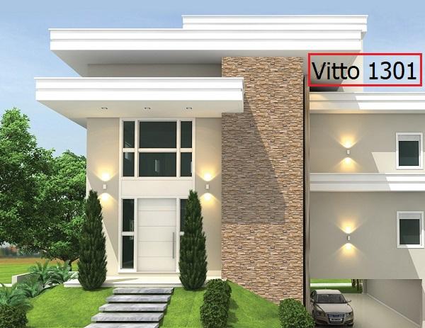 gạch giả đá ốp mặt tiền Vitto 1301