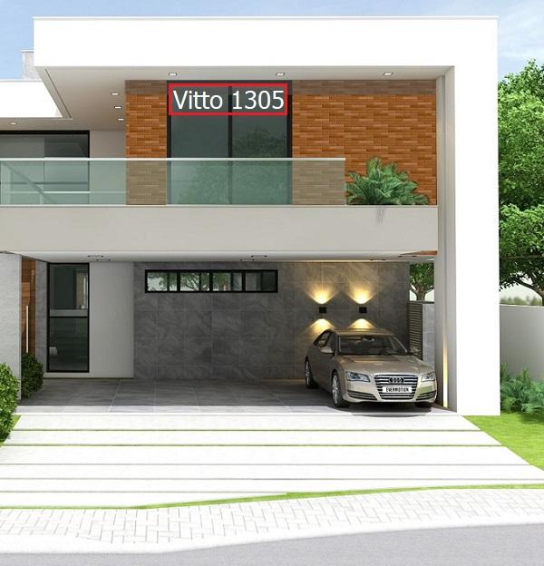 gạch giả đá ốp mặt tiền Vitto 1305