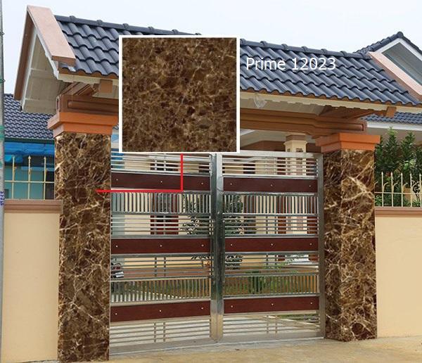 gạch ốp trụ cổng giả đá Prime 12023