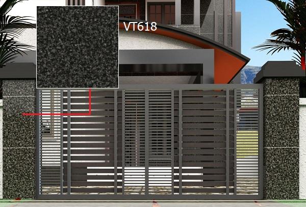gạch ốp trụ cổng giả đá Vento VT618