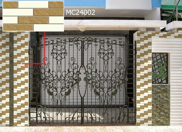 gạch ốp trụ cổng nhà MC24002