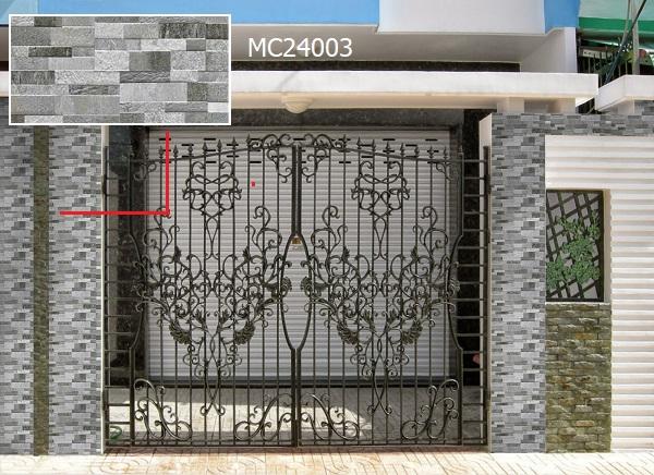 gạch ốp trụ cổng nhà MC24003