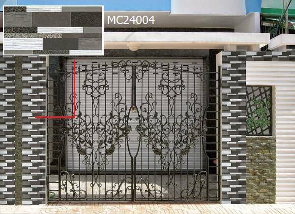 gạch ốp trụ cổng nhà MC24004