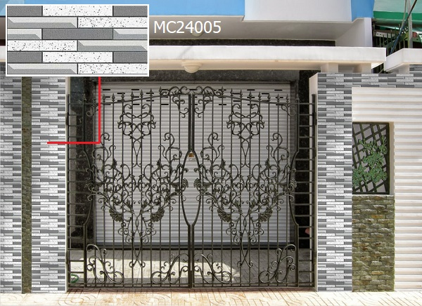 gạch ốp trụ cổng nhà MC24005