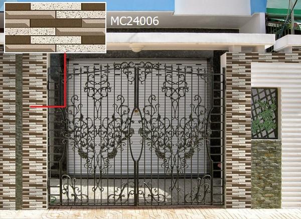 gạch ốp trụ cổng nhà MC24006
