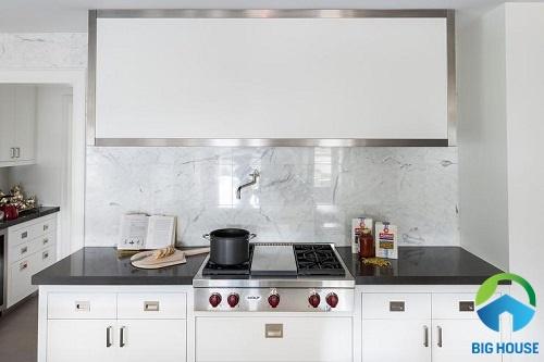 gạch ốp tường bếp màu trắng 16