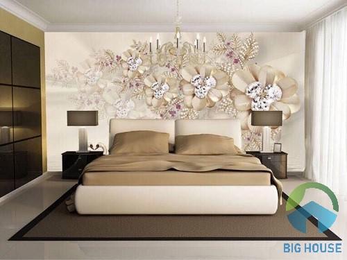 gạch tranh trang trí phòng ngủ