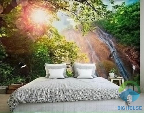 gạch tranh trang trí phòng ngủ 2