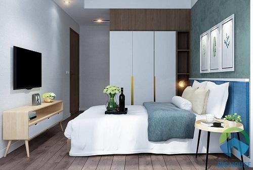 thiết kế phòng ngủ 10m2 11