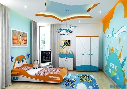 thiết kế phòng ngủ 10m2 12