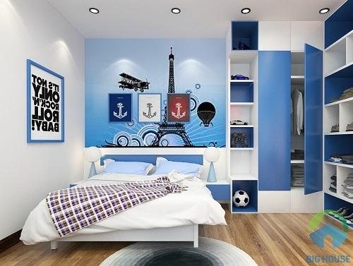 thiết kế phòng ngủ 10m2 14