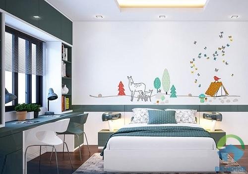 thiết kế phòng ngủ 10m2 15