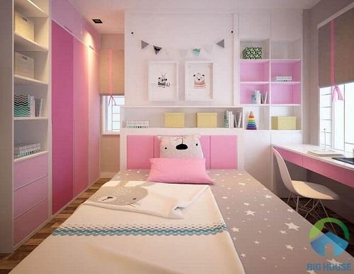 thiết kế phòng ngủ 10m2 16