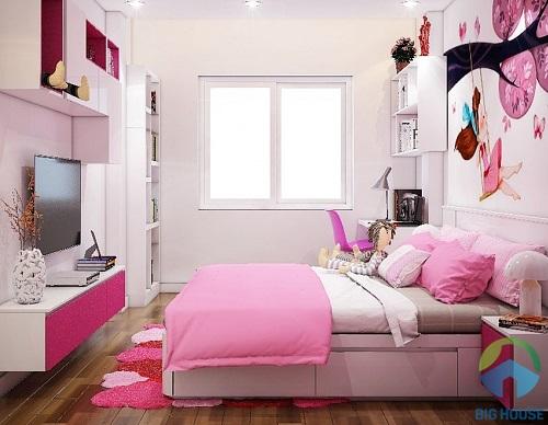 thiết kế phòng ngủ 10m2 17