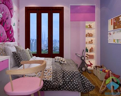 thiết kế phòng ngủ 10m2 18