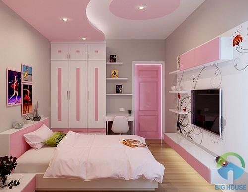 thiết kế phòng ngủ 10m2 19