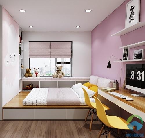 thiết kế phòng ngủ 10m2 22