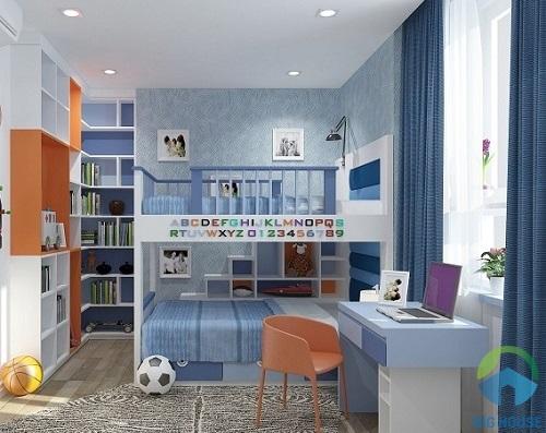 mẫu thiết kế phòng ngủ 10m2 đơn giản