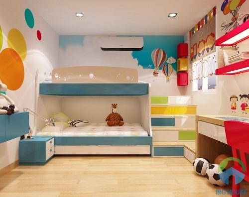 mẫu thiết kế phòng ngủ 10m2 1